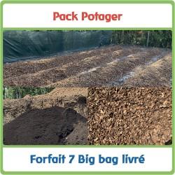 Pack - 7 Big bag pour Potager
