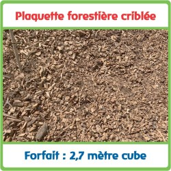 Plaquettes forestières...