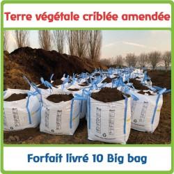 10 Big Bag - Terre criblée...
