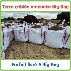 Forfait - 5 Big bag livrés...