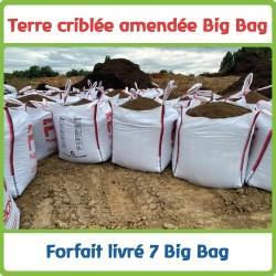 7 Big bag livrés en Terre...